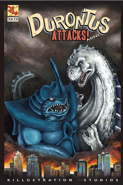 Durontus Attacks Cover