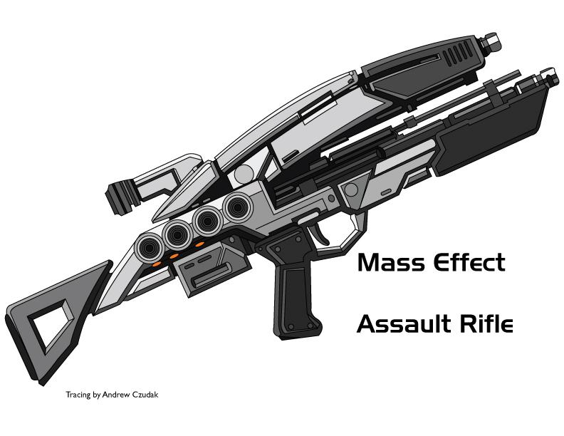 Mass Effect Rifle