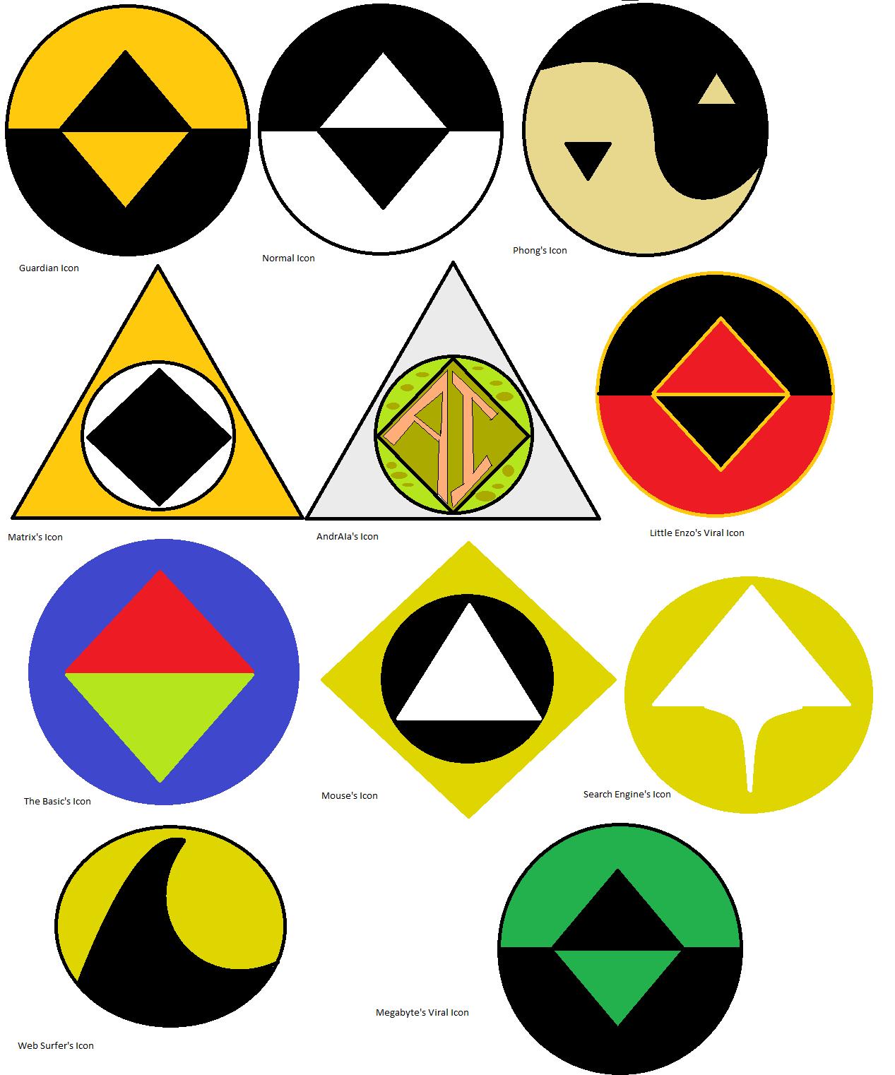 ReBoot Icons