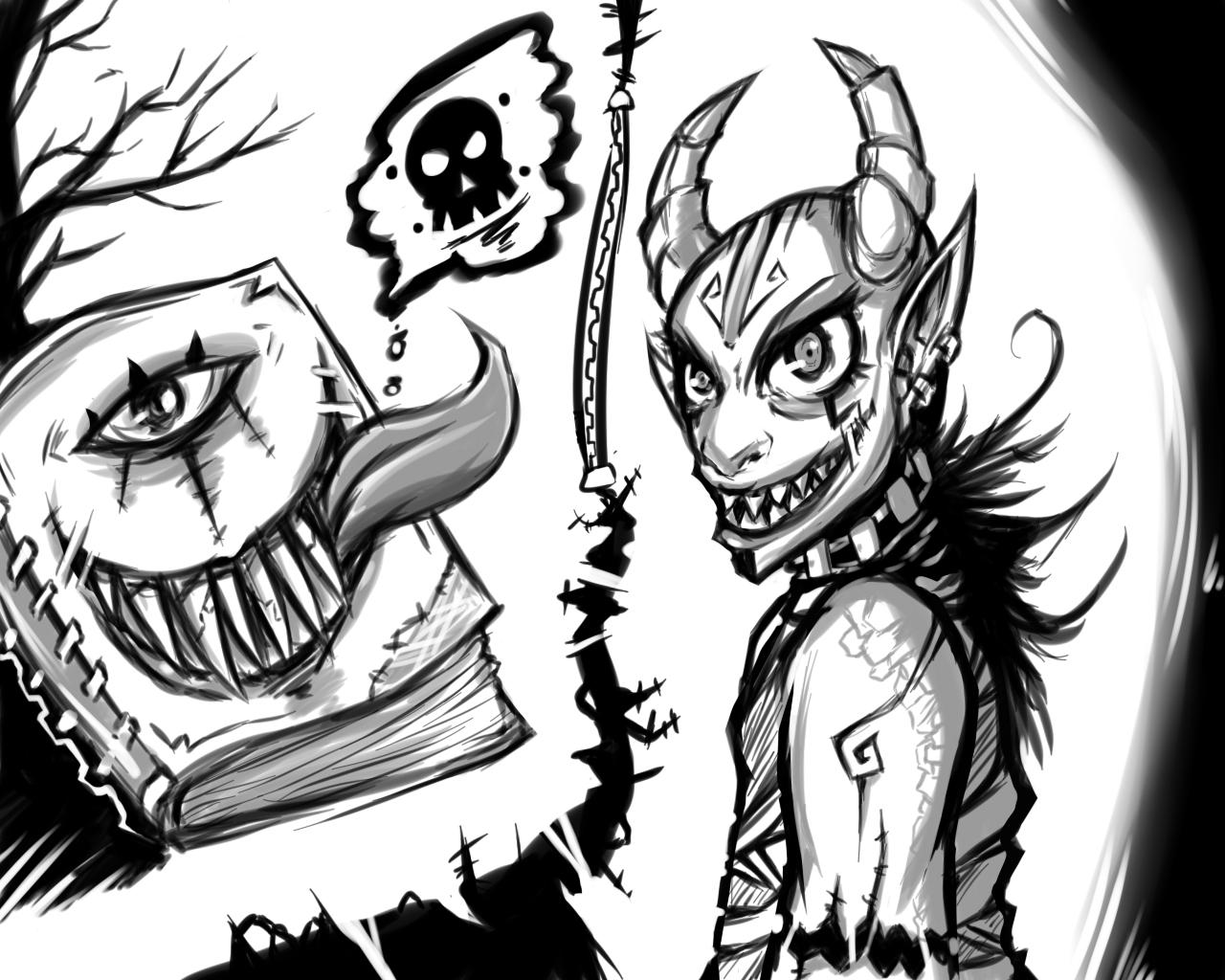 Demon Doodle
