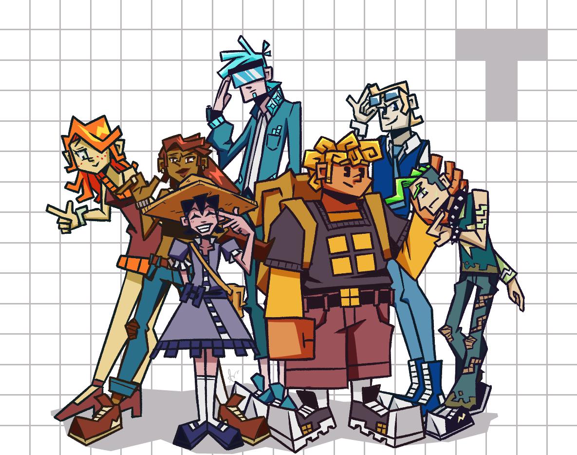 Meet the Tetris Gijinkas