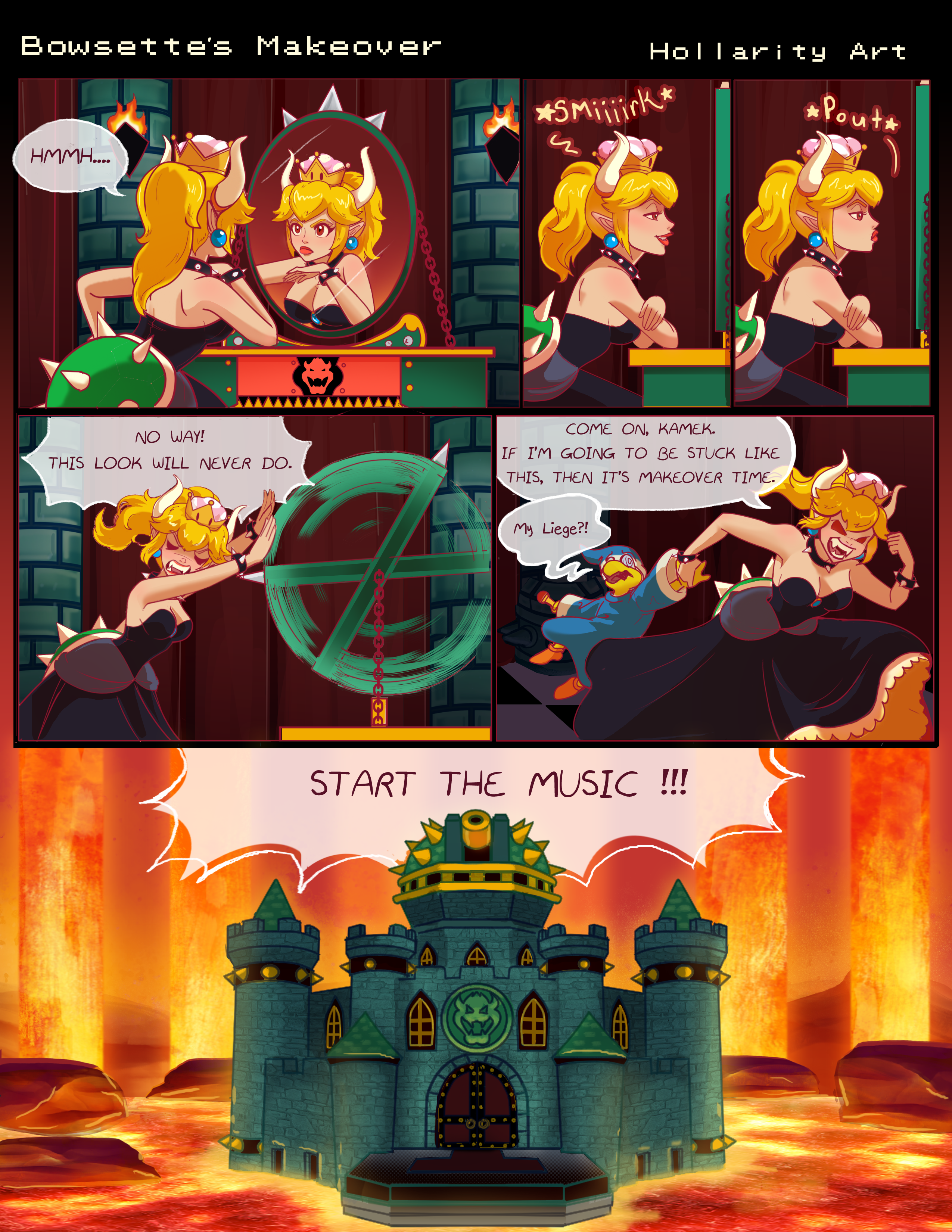 Bowsette's Makeover- Page 1