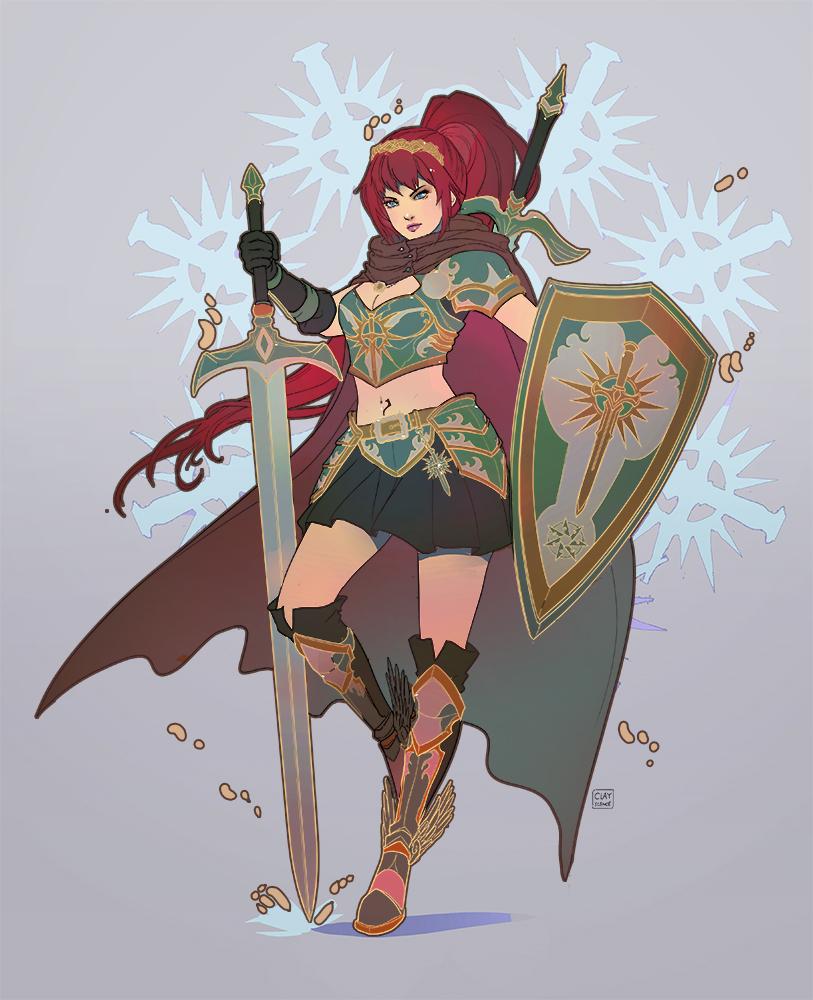Heraldic warrior
