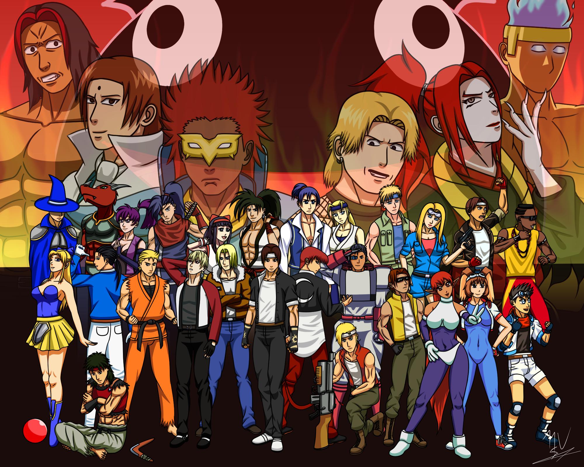 Neo Geo Anime (NeoGeoJam)