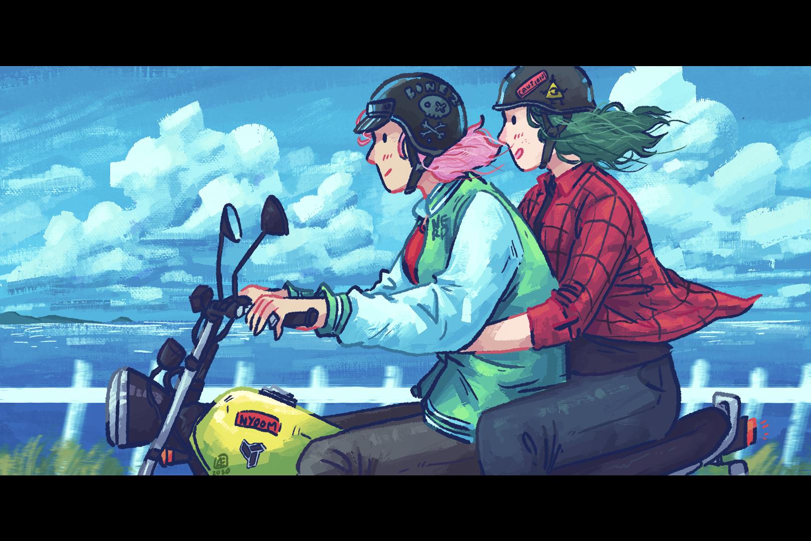 Motorbike Ride