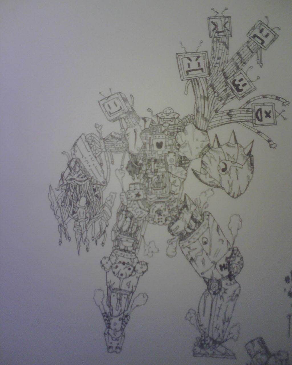 Alien's Colossus junk warrior
