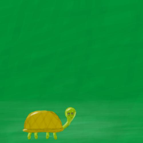 SERIOUS TURTLE!