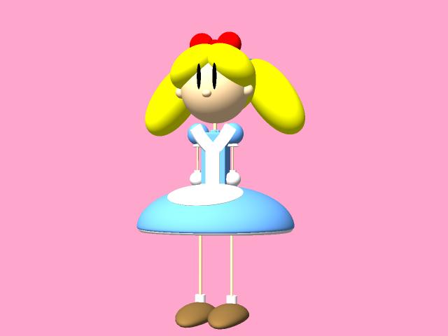 Daisy Dottie in 3D!