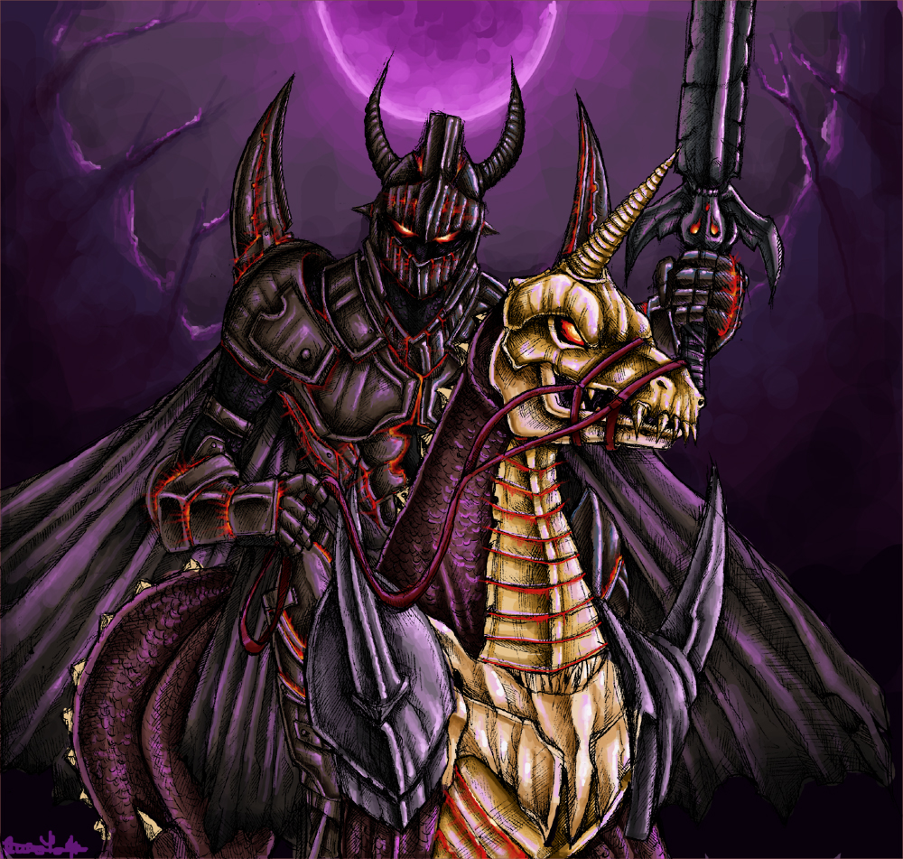 The Knight Of the Purple Moon