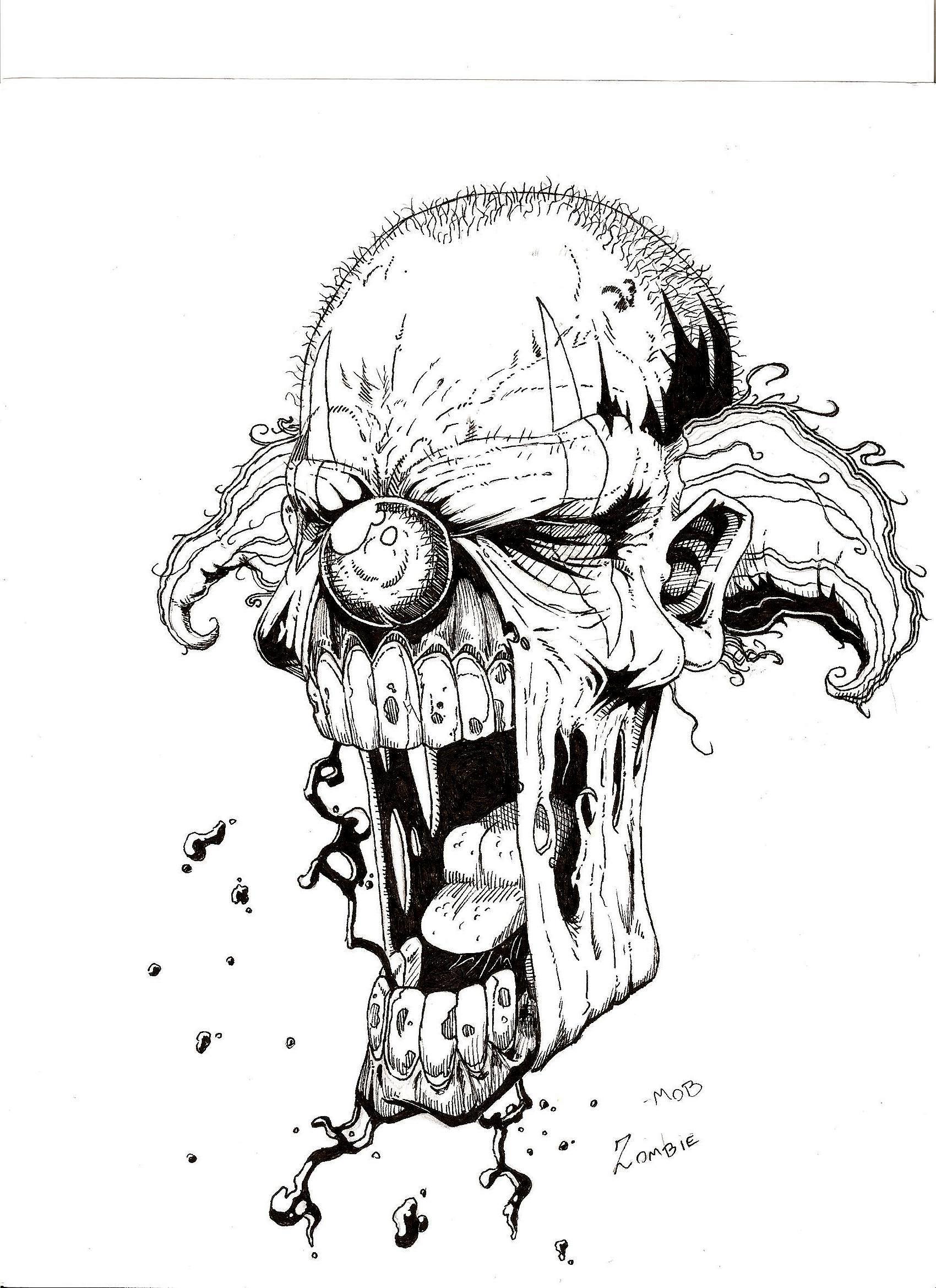 zombi clown