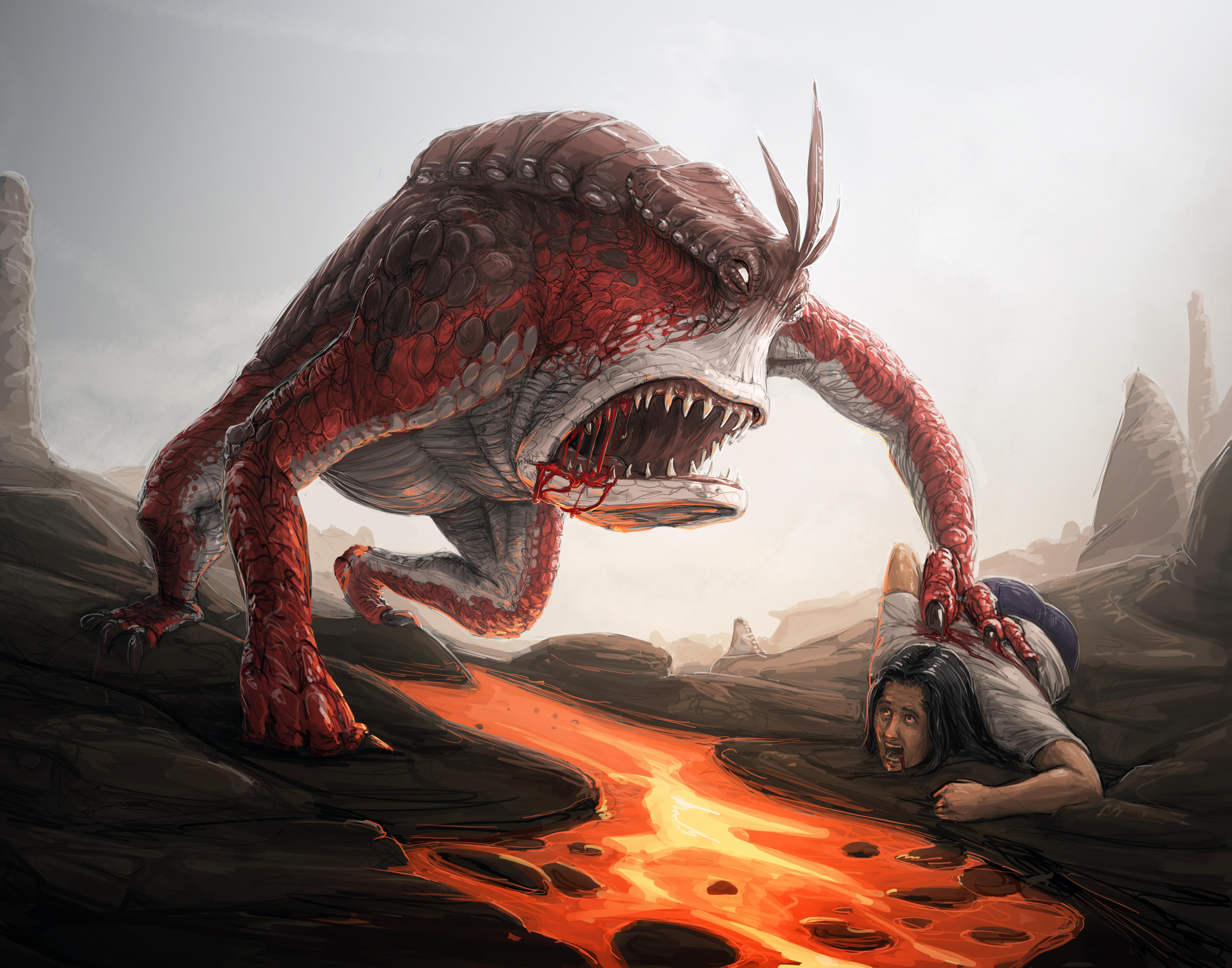 Lava Stalker