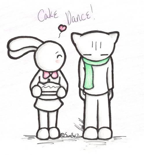 There She Is Cake Dance