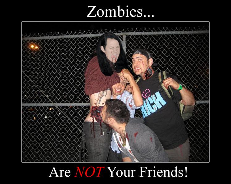 Bad Zombies!