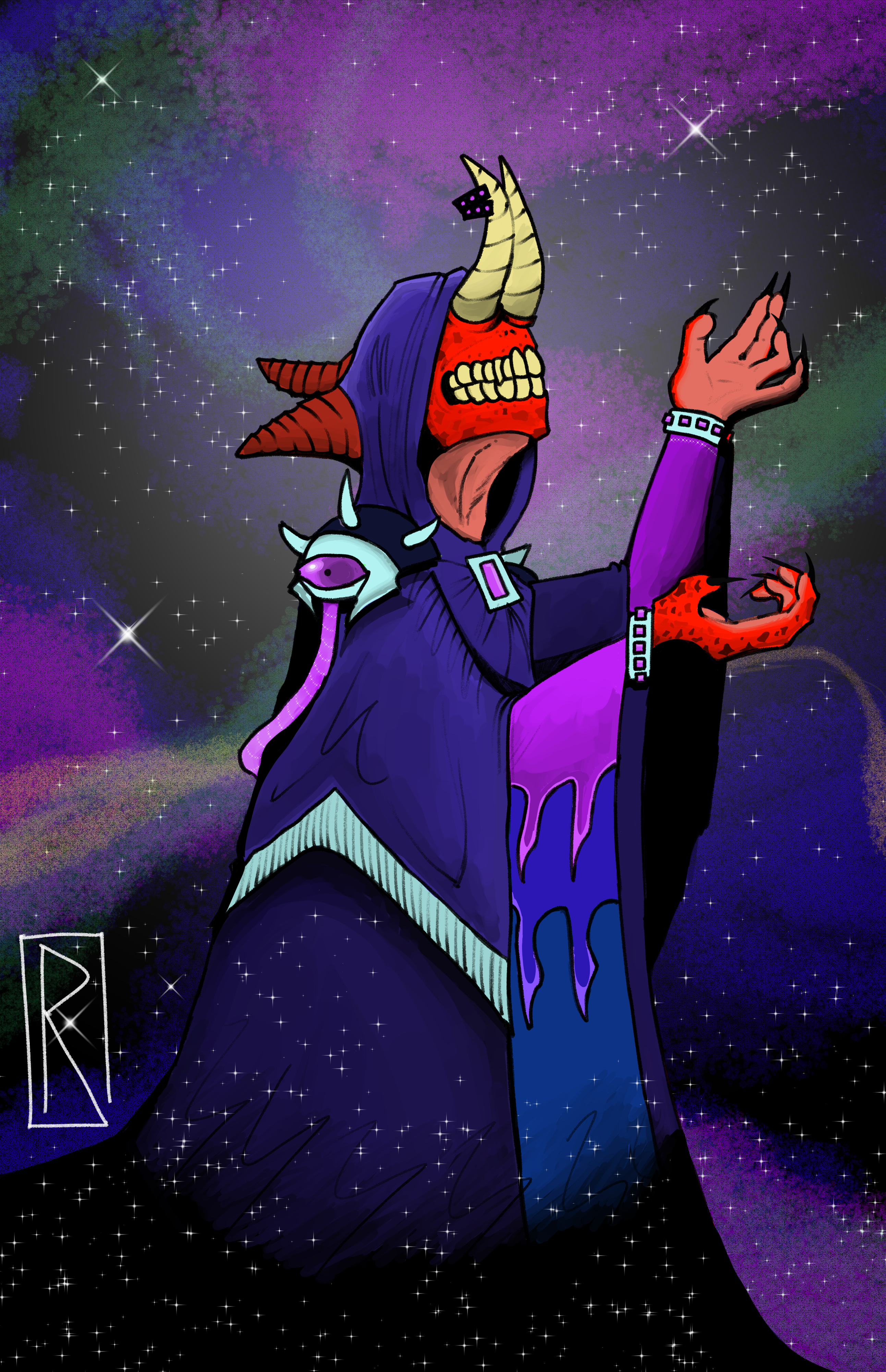 Galactic Space Priest