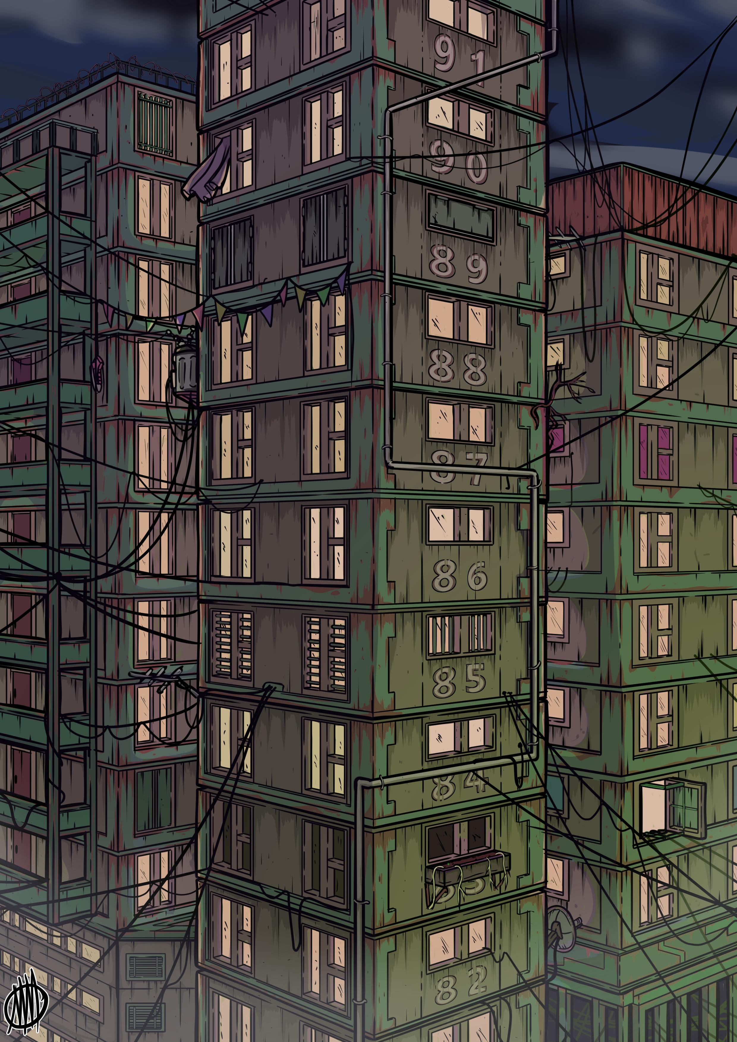 towers to the sky by markymayhem