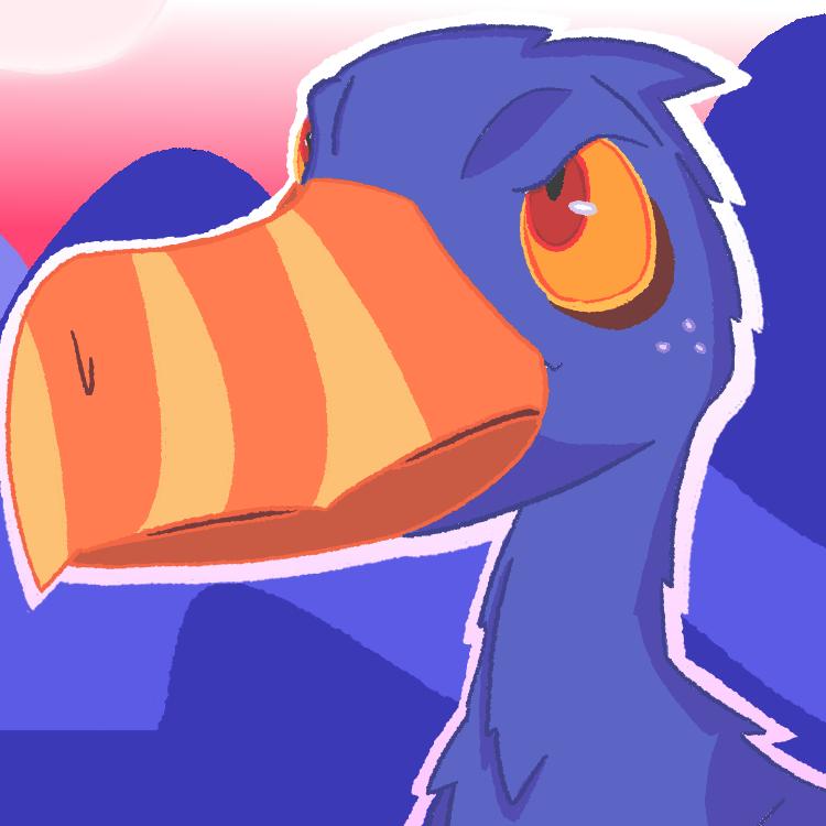 Angry Shoebill !