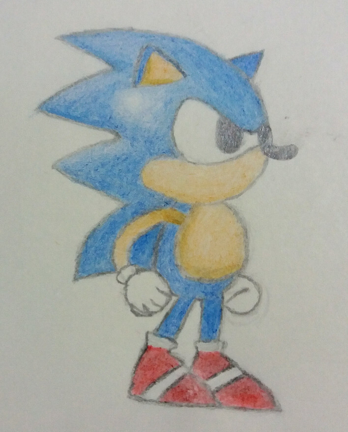 Lil' Sonic Drawing