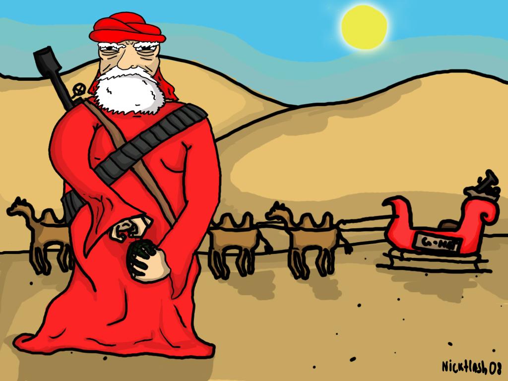 Taliban Santa by nickflash on Newgrounds