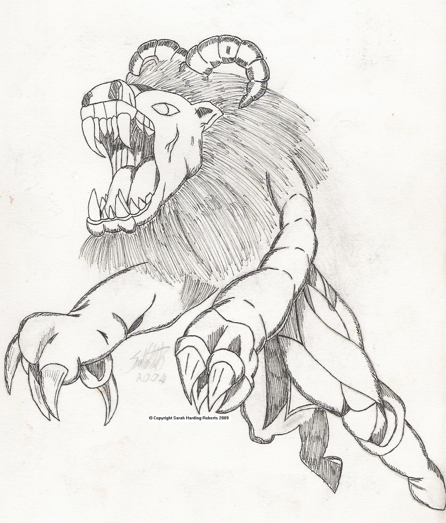 Mythological Lion