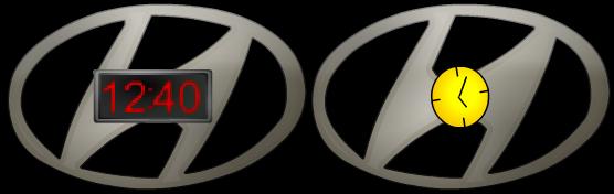 Hyundai Clock Version 4
