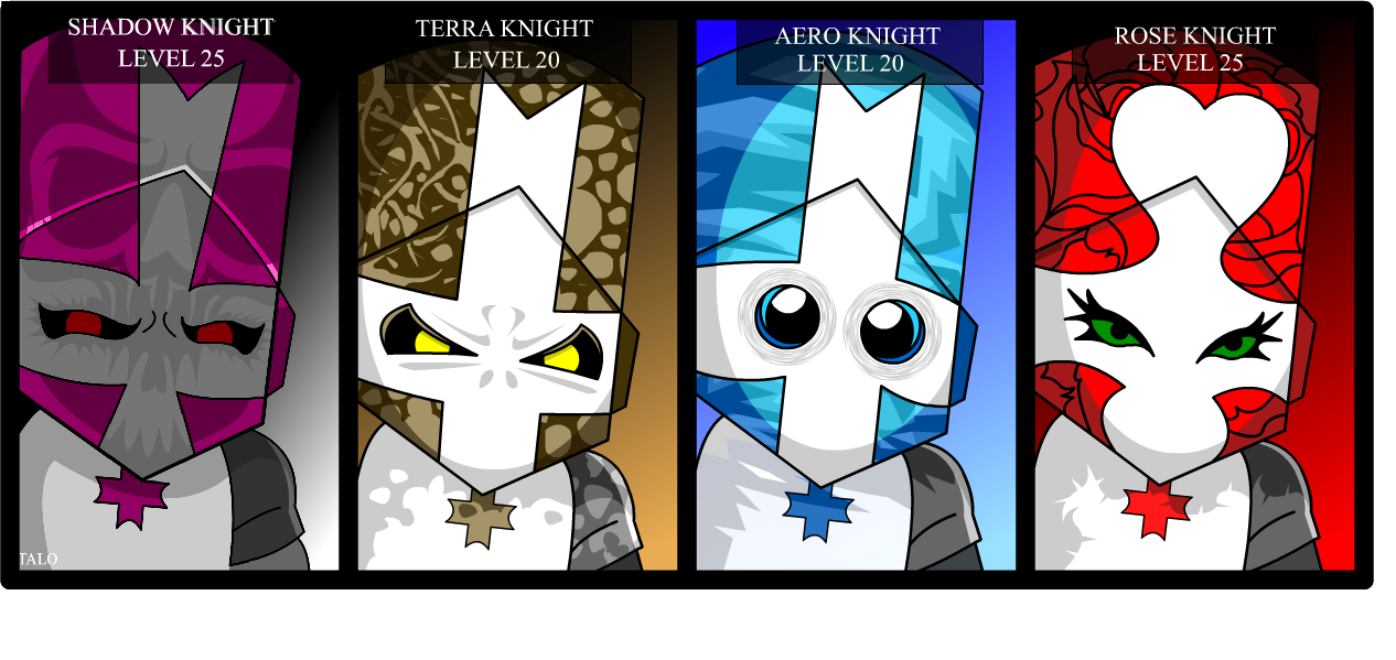 Castle Crashers Concept Knight
