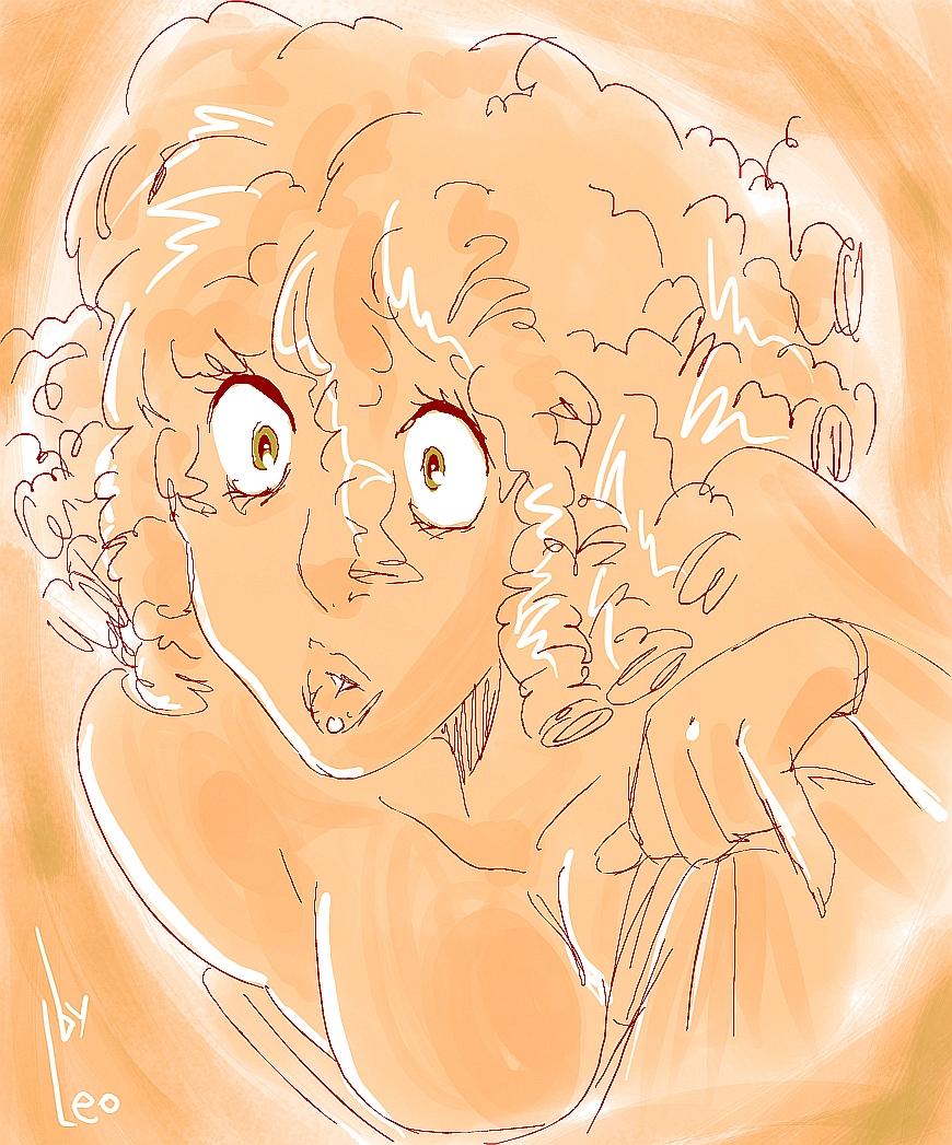 sketch girl 12