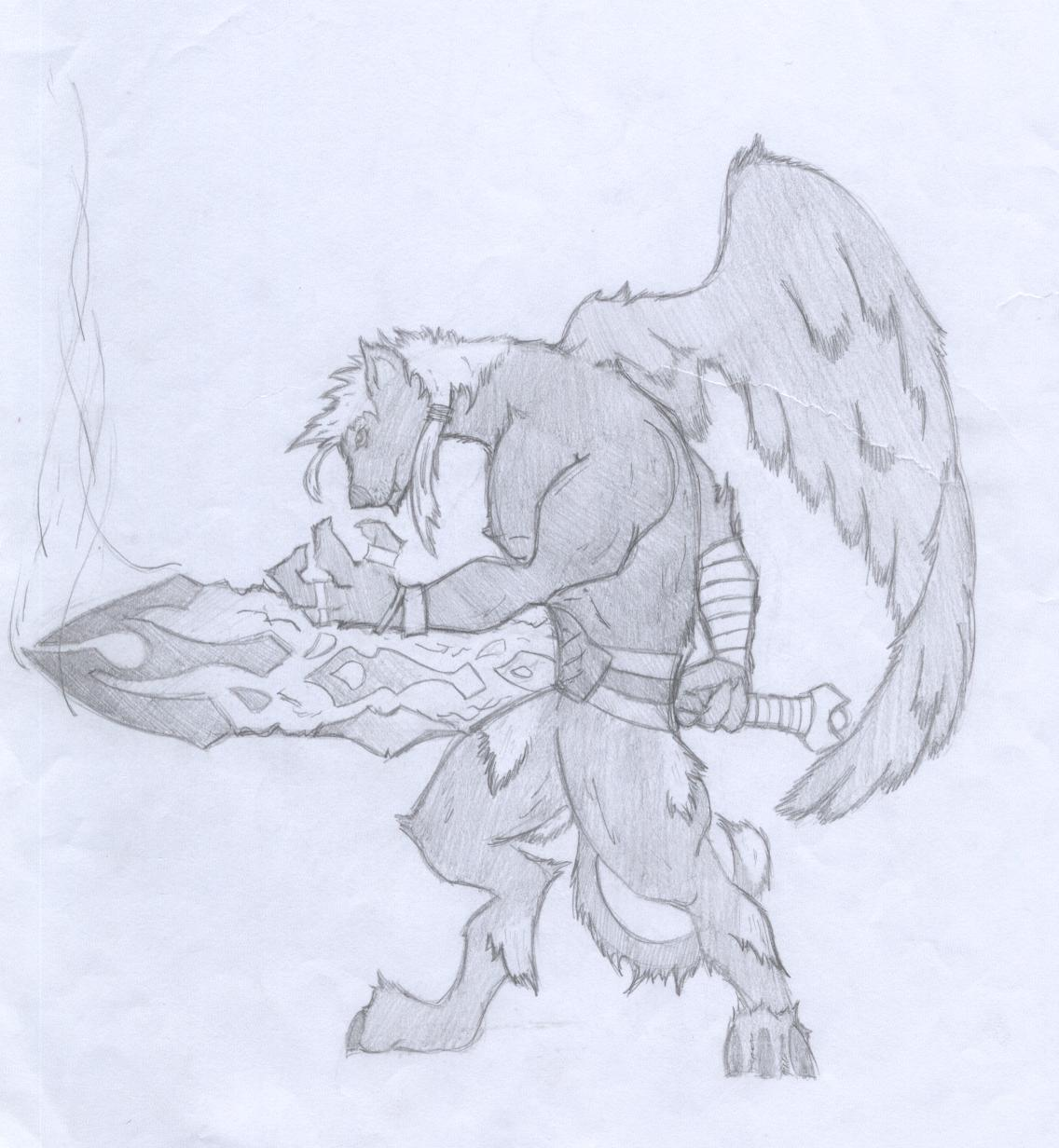 Warrior Mutt