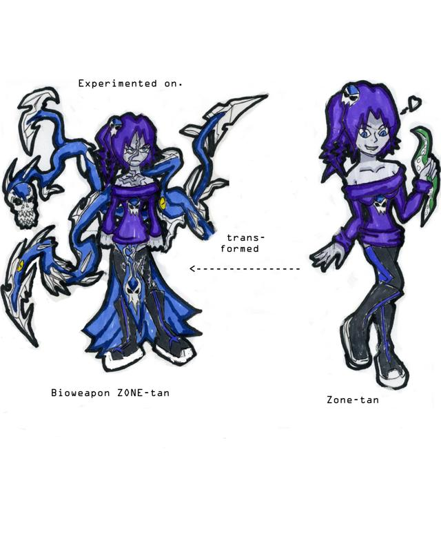 ZONE-tan's New Form