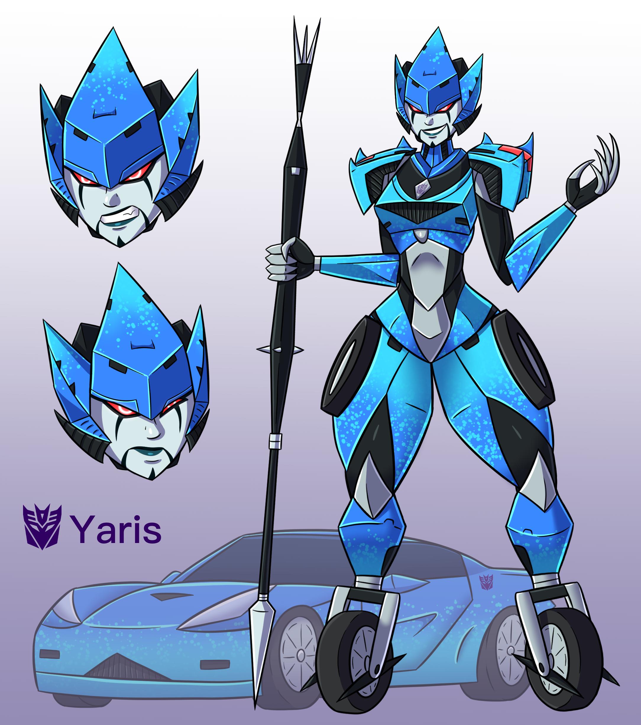 Decepticon Yaris