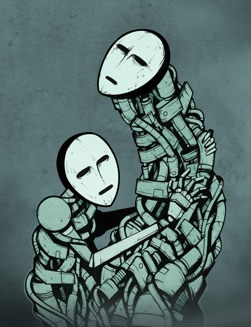 Wired Embrace