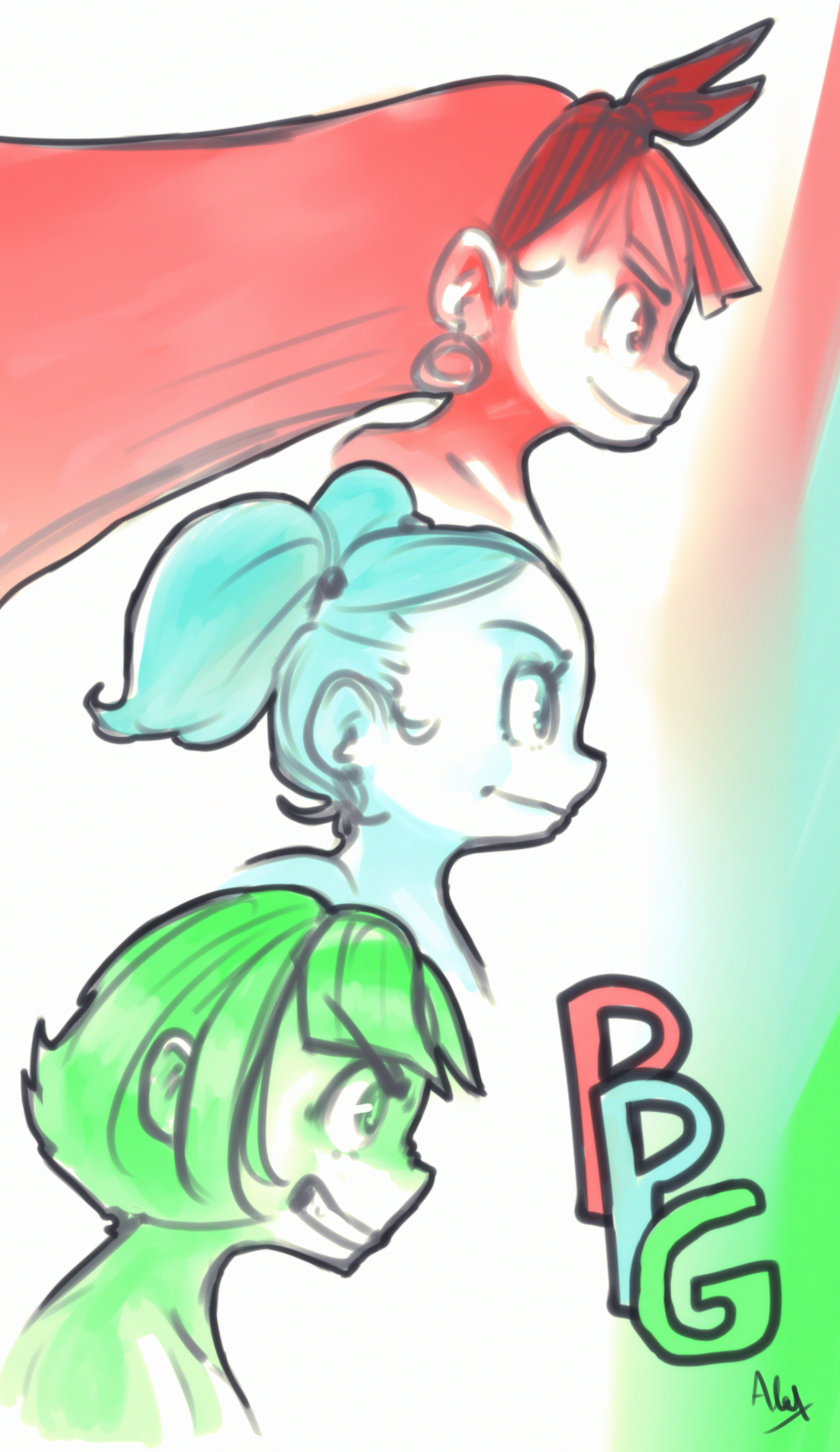 weekly doodle 2 PPG