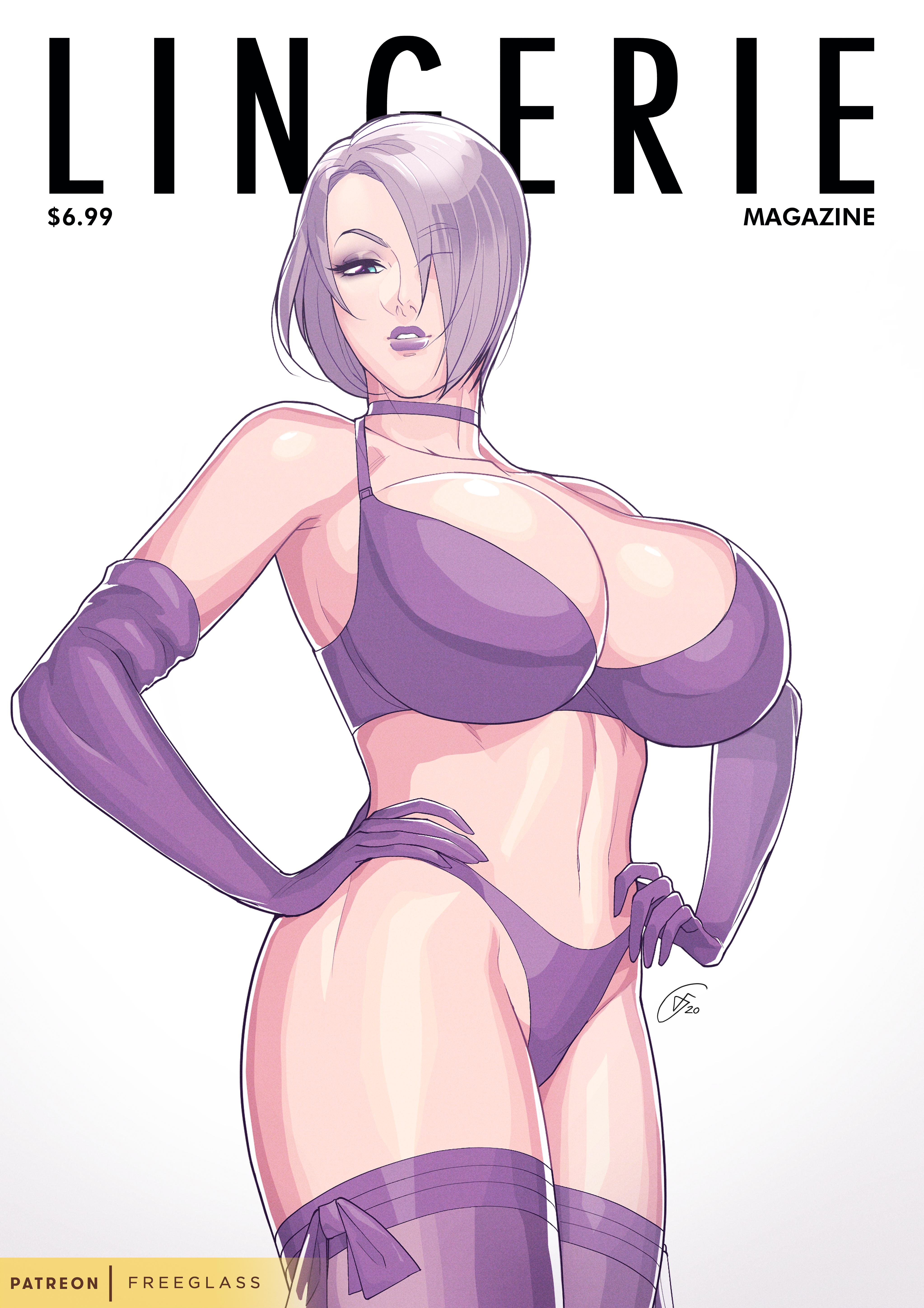 Lingerie Magazine Cover Girl - Ivy Valentine