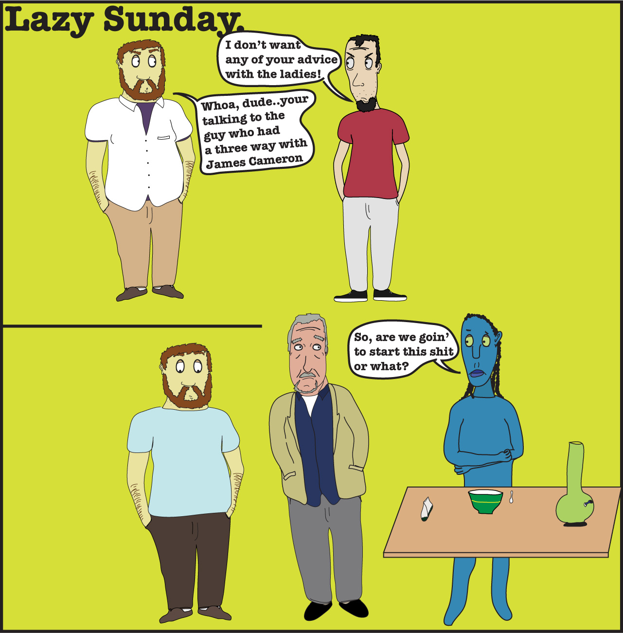 Lazy Sunday(Avatar)