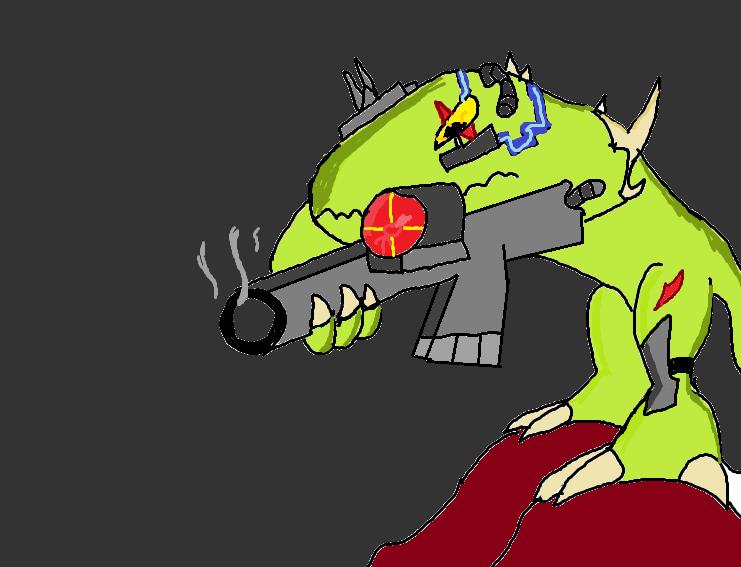 Techanoid sniper
