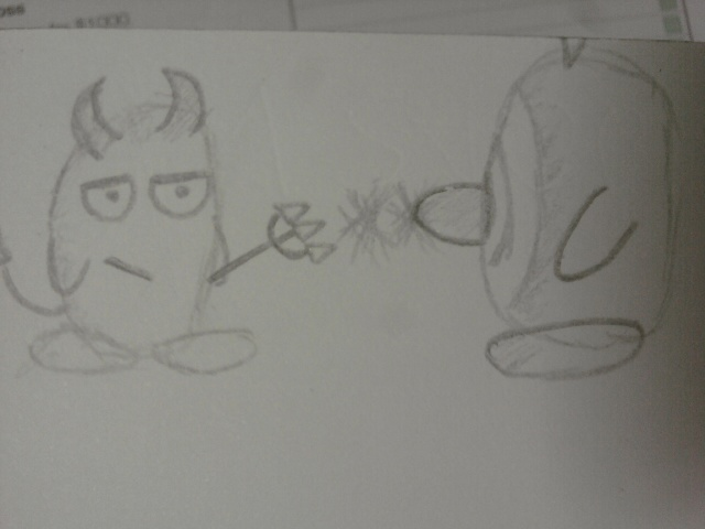 Devil Kirby & Doo Hero