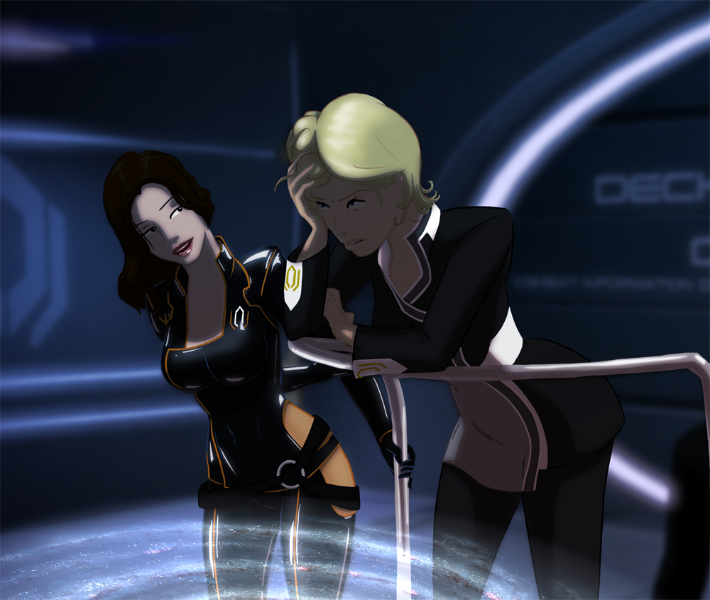 from Pierce can you hook up with miranda in mass effect 2