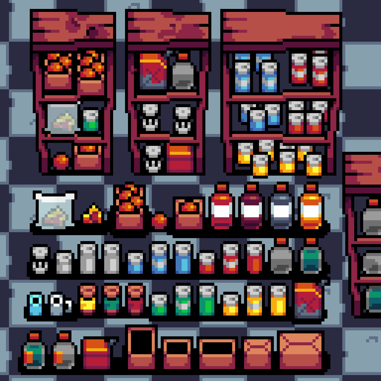 New items for my game!