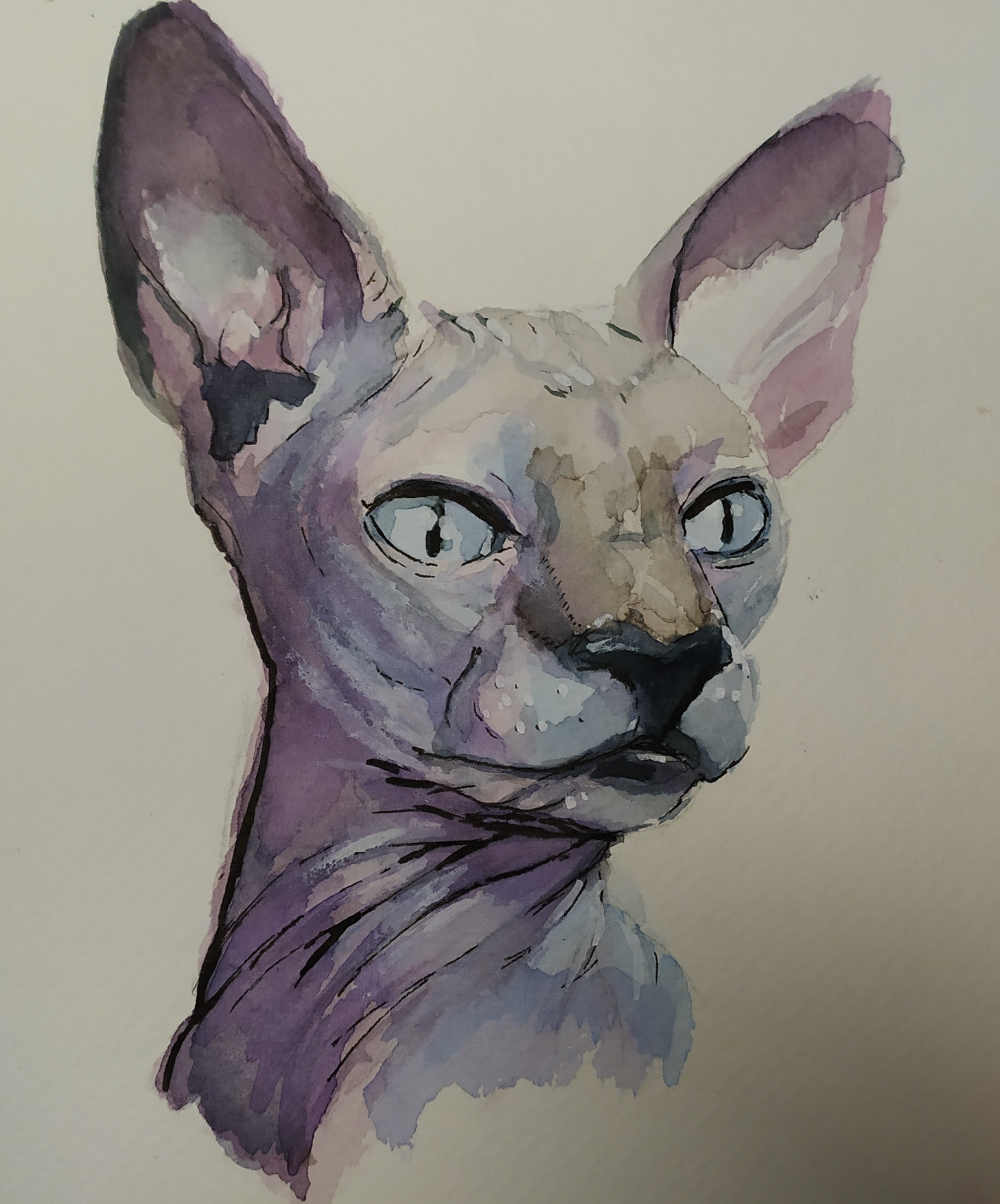 Watercolor Month Day 2