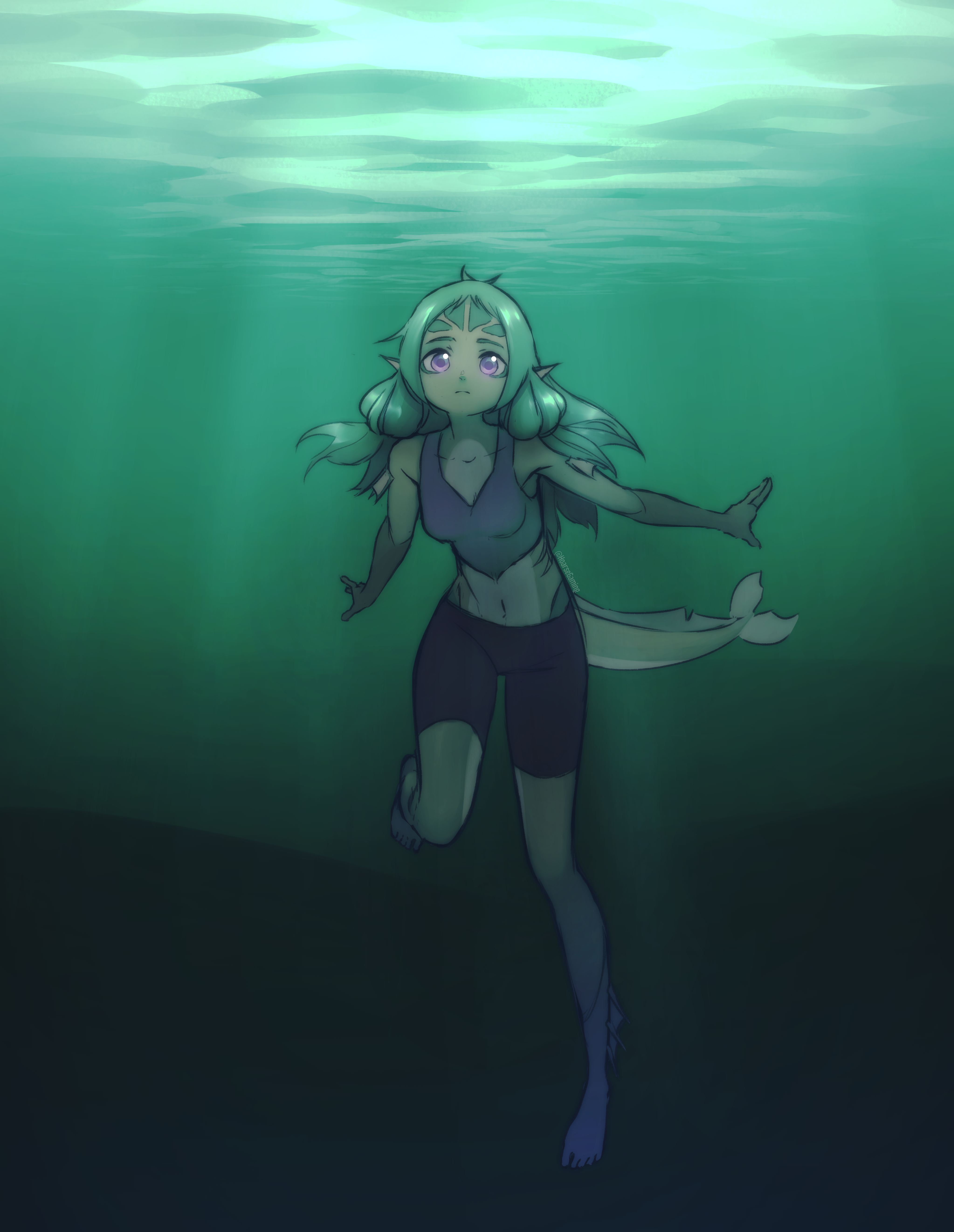 Asher the Fish Girl