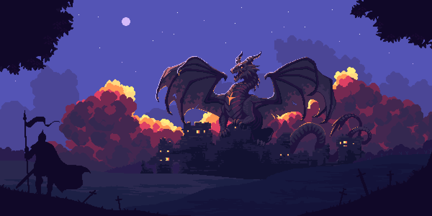 Dragon Castle collab with @theartistjulian on Twitter