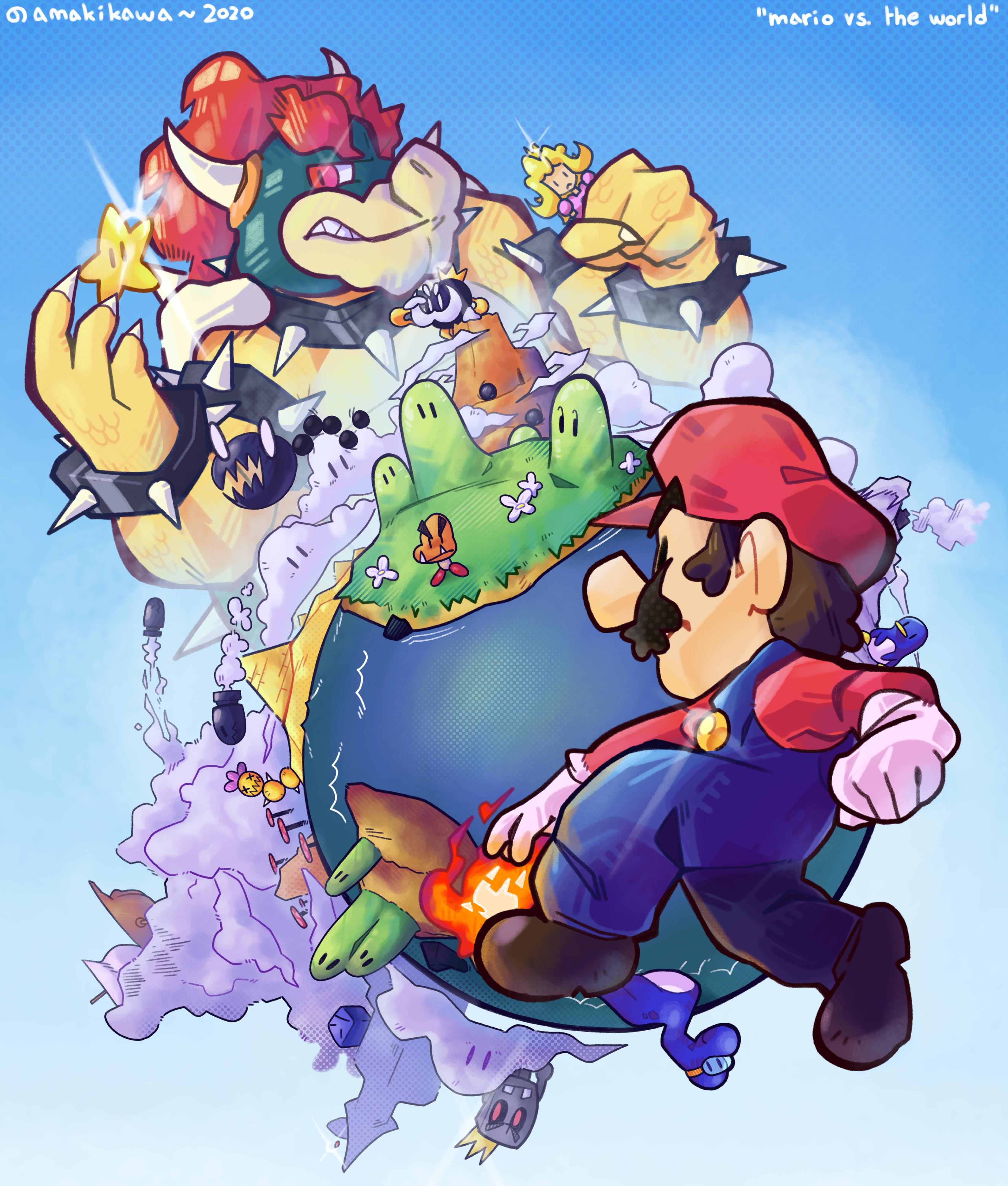 Mario vs. The World