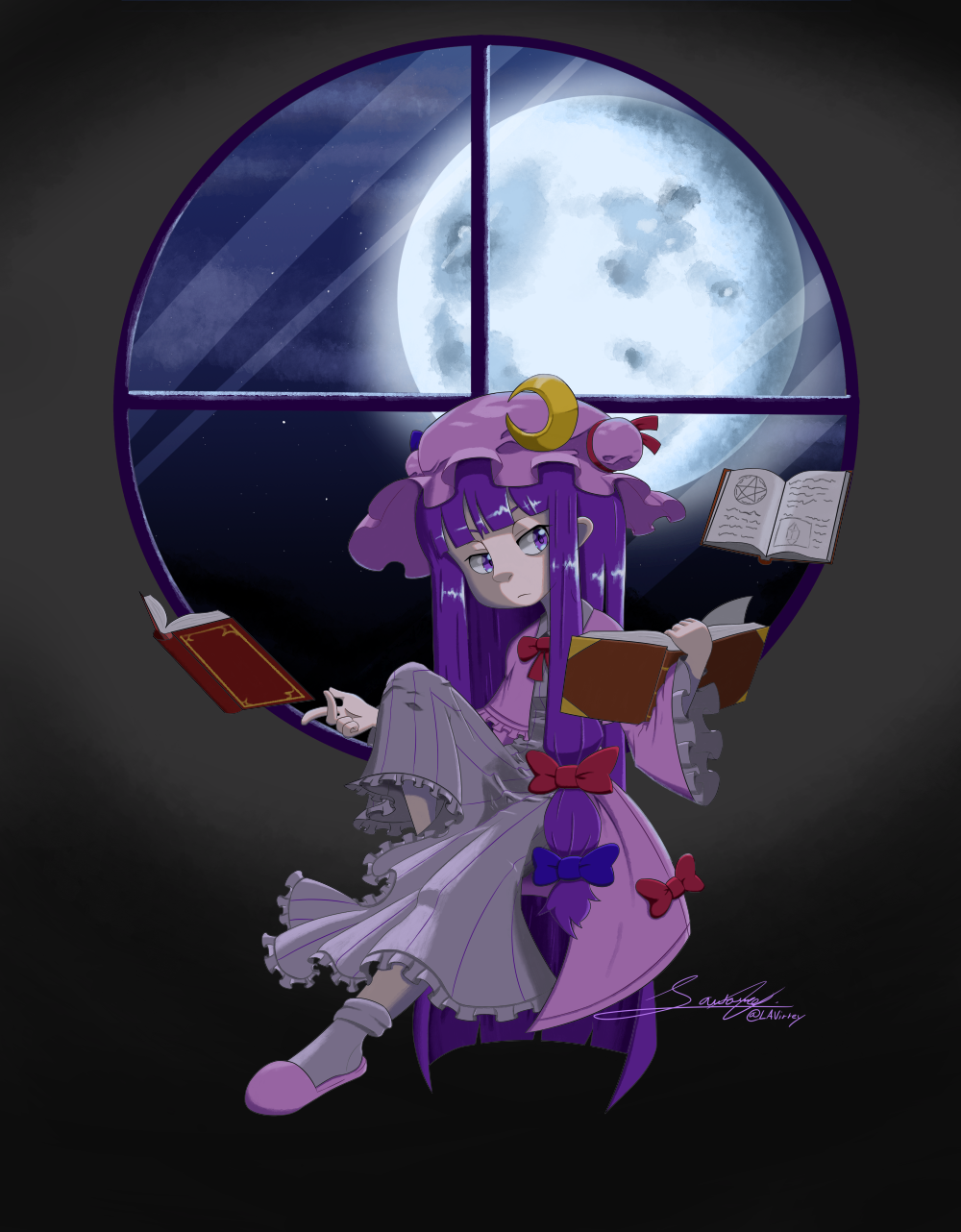 The Great Unmoving Library, Patchy