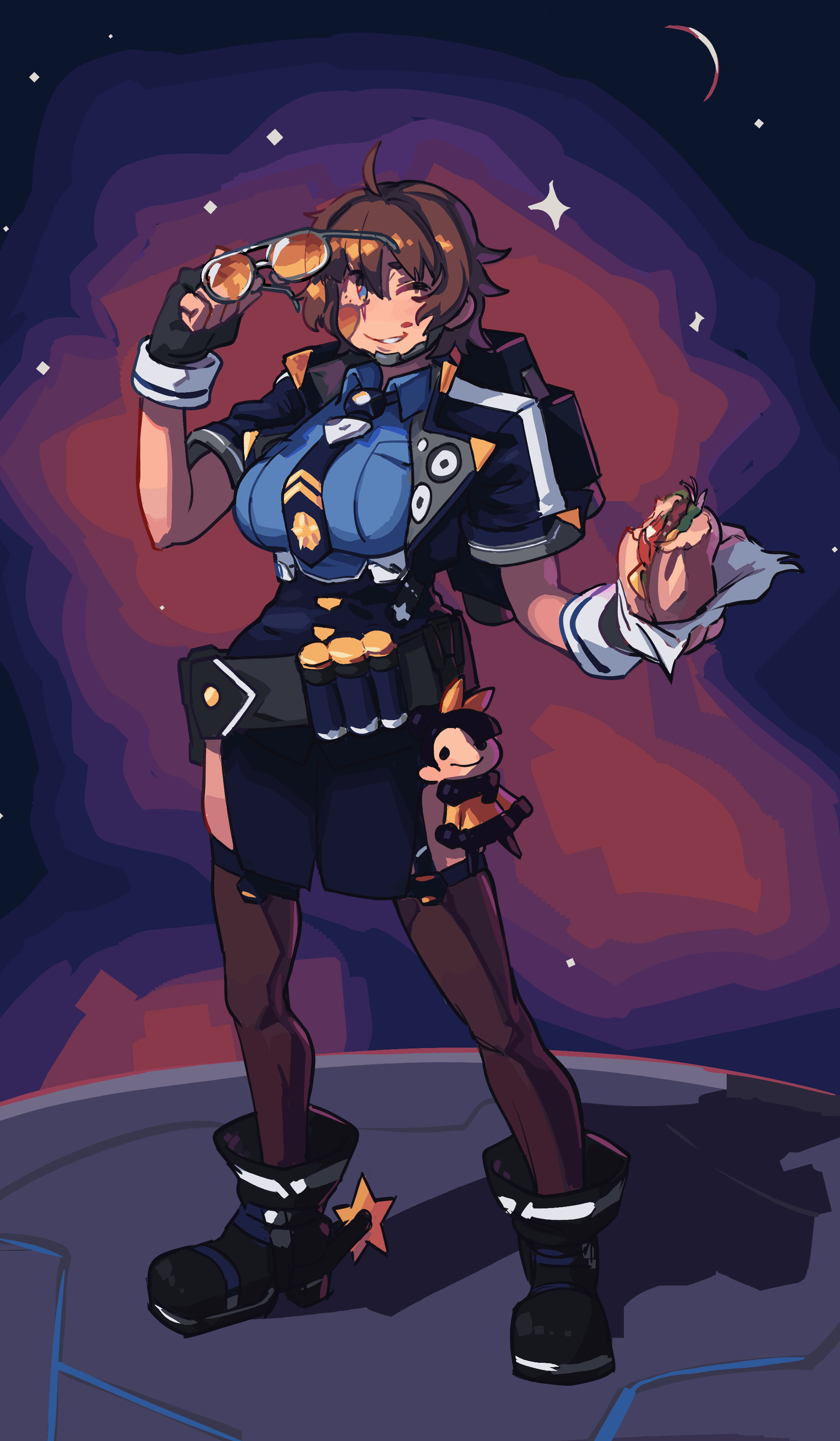 Spacegirl PSO2 ver.