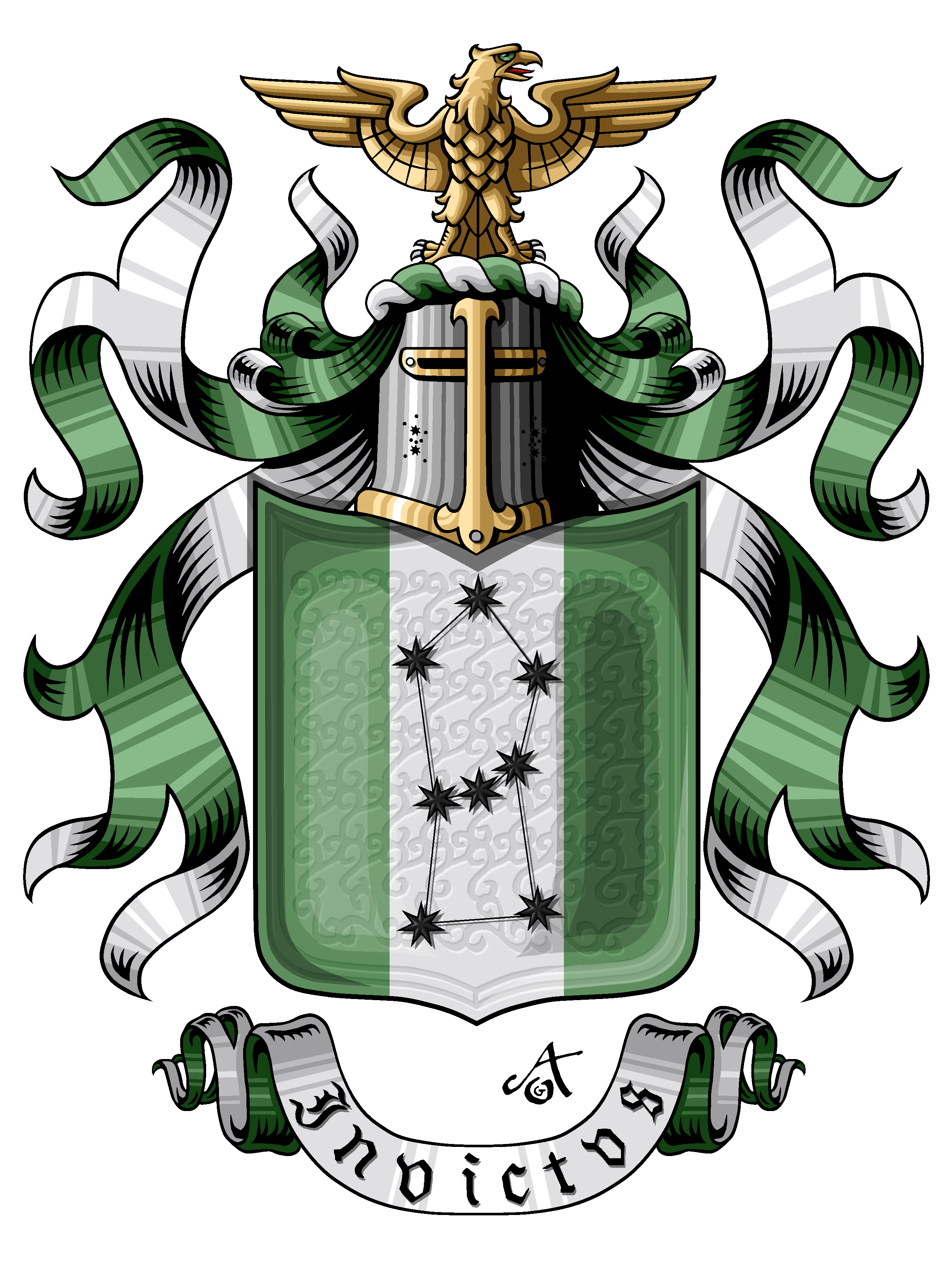 Baron Ungern's Arms