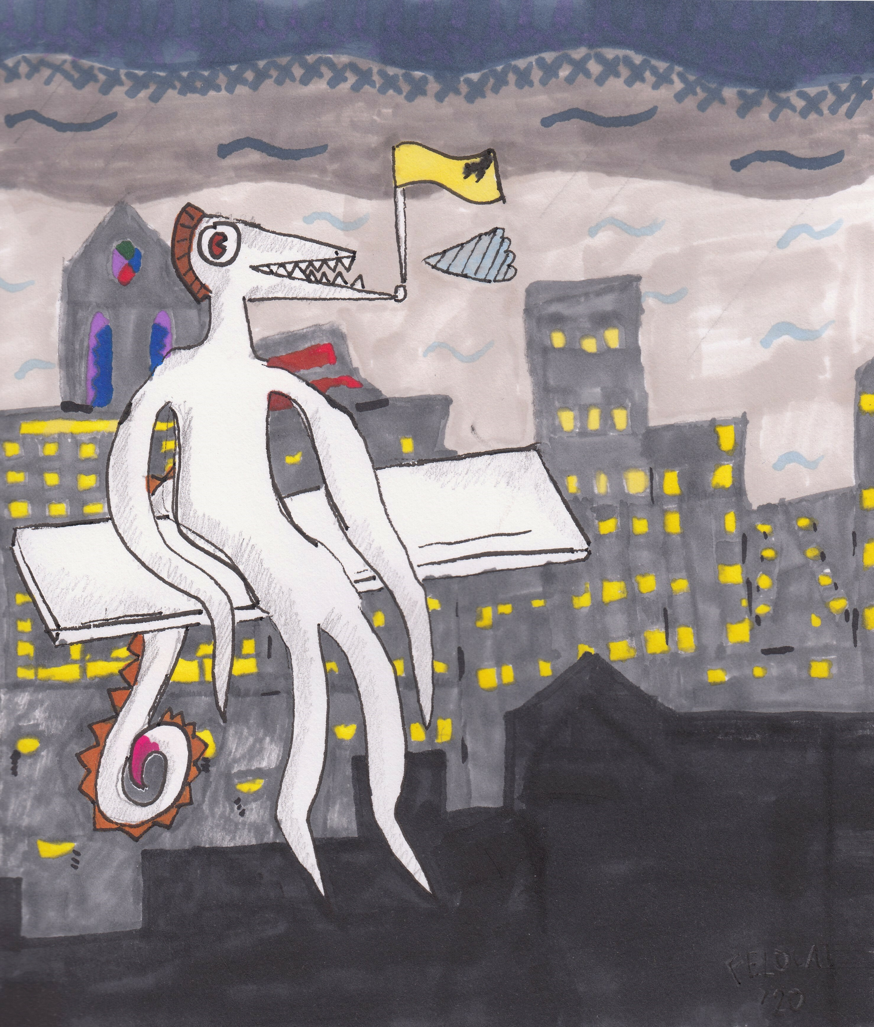 """""""Grey Smells Of The Fall - The City"""""""