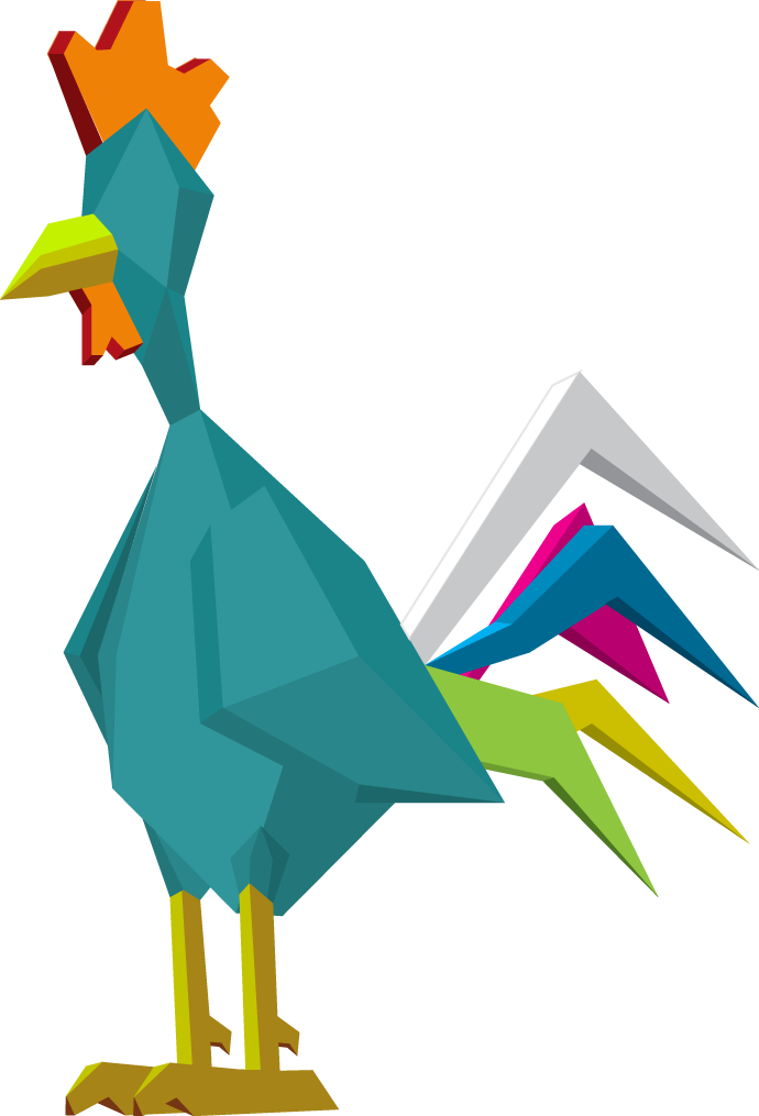 Cubic Rooster