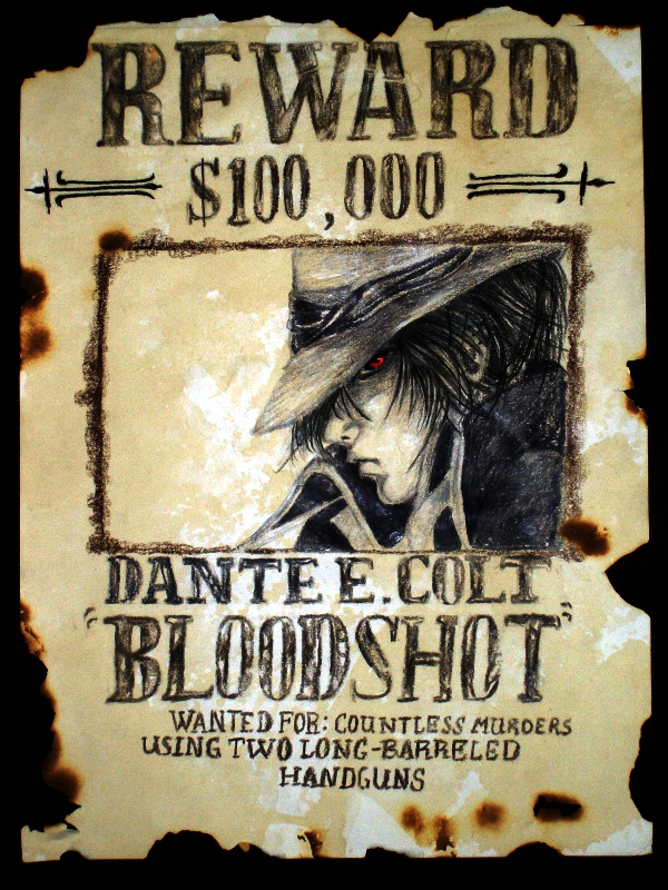 Wanted: Dante E. Colt