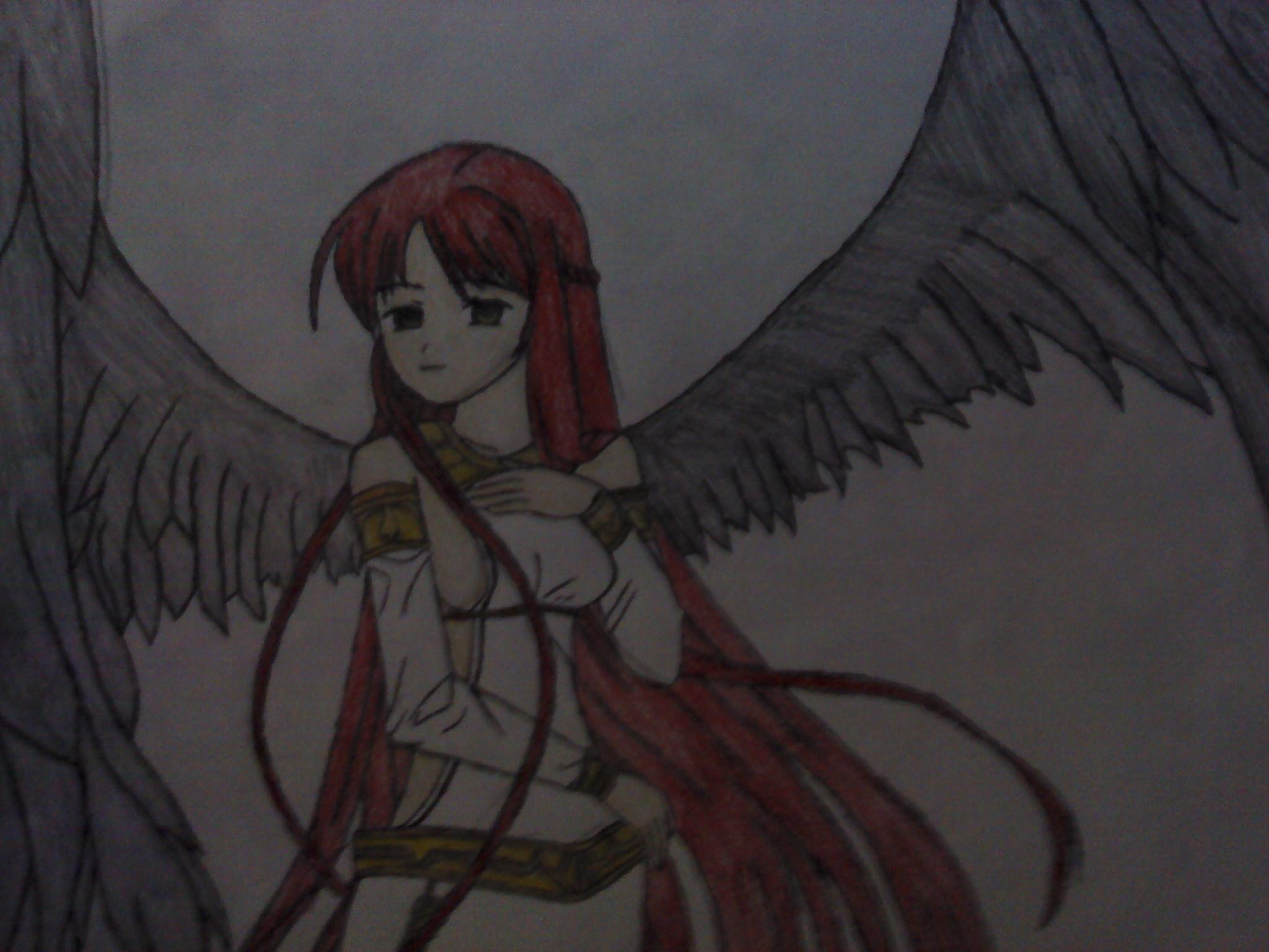 dark angel girl