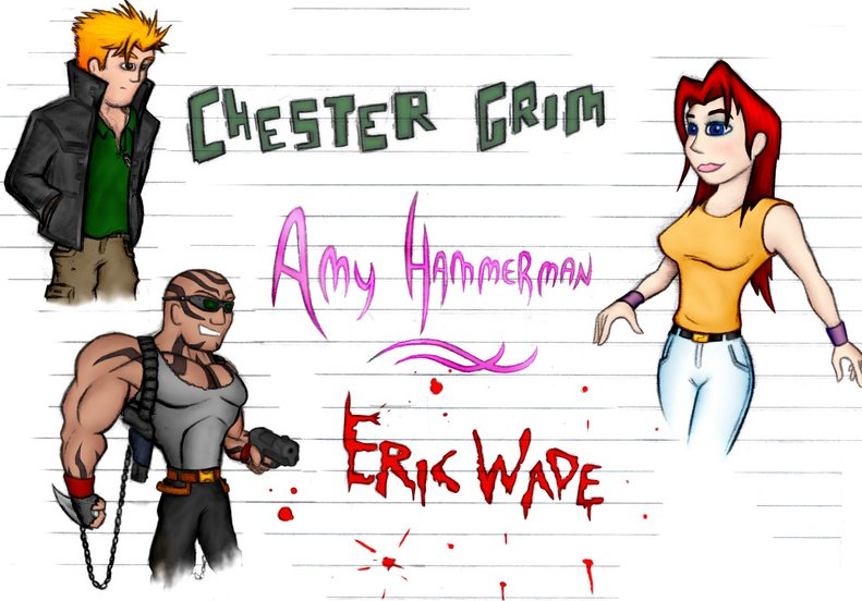 Chester and Amy and Eric