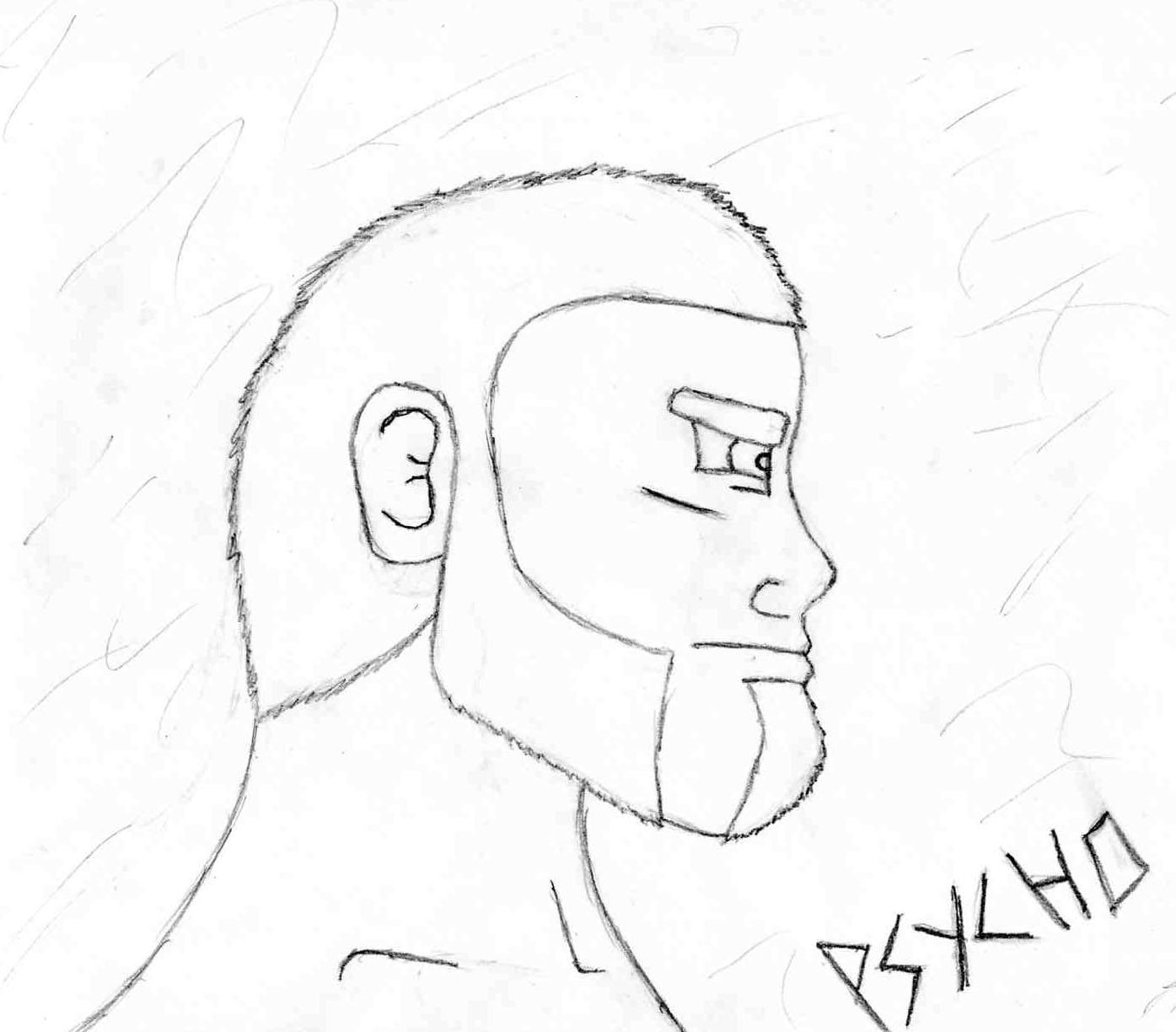 Self Portrait Profile